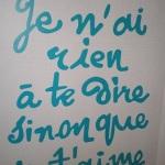 Meine Liebe zu Frankreich
