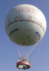 Heißluftballon Paris