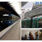 Unterschiede zwischen der Pariser Metro und der Münchner U-Bahn