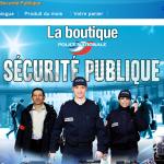 Der Online-Shop der französischen Polizei