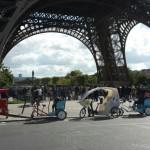 Rikschas in Paris