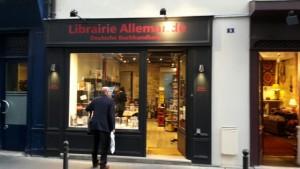 Librairie allemande