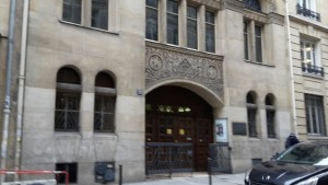 Protestantische Kirche Paris
