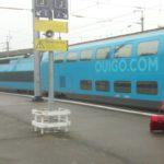 Fahrt im Ouigo-Zug